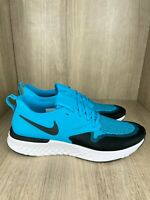 Nike Men's Odyssey React 2 Flyknit Running Shoe TEAL/BLUE Athletic NWT