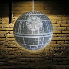 Star Wars Death Star Ceiling Light Lamp Shade Easy Fitting Bedroom Accessories
