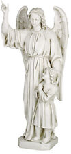 """New listing Guardian Angel and Child sculpture statue 26"""" for home or garden"""