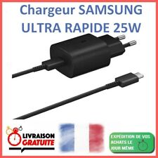 Samsung Chargeur ultra rapide - Noir, 25W compatible galaxy note 10 etc. ...
