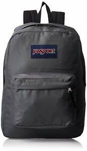JanSport SuperBreak One Backpack Lightweight School Bookbag Deep Grey