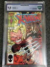 UNCANNY X-MEN #213 (Marvel Comics, 1987) CBCS 9.8 (Like CGC) ~ White Pages