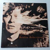 Robbie Robertson - Self Titled - Vinyl LP Europe 1st Press 1987 EX+ The Band