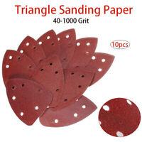 Schleifdreiecke Dreieck Schleifpapier Schleifscheiben für Deltaschleifer 10stuck