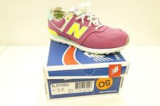 NEW BALANCE 574 KL574S6G MOYEN/MULTI COLOUR  KIDS TRAINERS UK 3  RARE BNIB