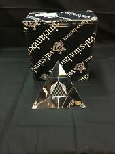 Val saint lambert crystal, Louvre Pyramid 130 mm. I have two! Price is per unit.