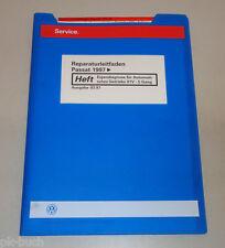 Werkstatthandbuch VW Passat Eigendiagnose Automatik Getriebe 01V 5 Gang 03/1997