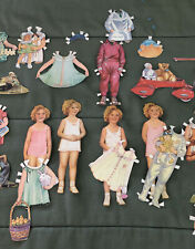 Vintage 1934 Shirley Temple Dolls And Dresses Paper Dolls