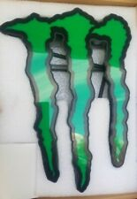 "Monster Energy LED Sign Light Stand NEW 13"" x 9"""