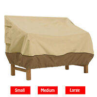 Garden Patio Furniture Bench Table Cover Waterproof Outdoor - Small,Medium,Large