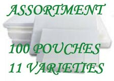 Assortment Pack Laminating Laminator Pouches Sheets 11 Varieties Withletter 5 Mil