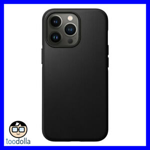 NOMAD Modern Case - genuine Horween Leather for Apple iPhone 13 Pro, Black