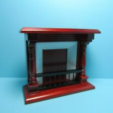 T6336 Dollhouse Miniature Walnut Long Display Counter