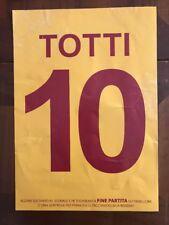 Cartoncino Coreografia Addio Totti Roma Genoa 28 Maggio 2017 NO Maglia Fascia