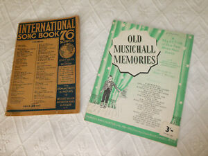 Old Music Hall Memories (Francis, Day & Hunter)/International Song Book 76 Songs