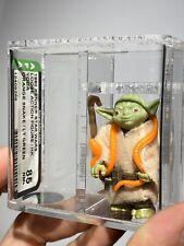 AFA 85 Kenner 1980 Star Wars Loose Yoda Orange Snake Light Green NM+
