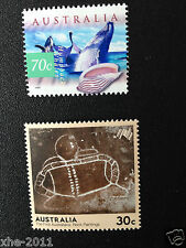 300 Australian MUH $1.00 (2 stamps) Postage Stamp - Full Gum Mint - Face $300