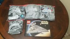 Lego Star Wars Imperial Star Destroyer - 10030 Complete, No Box