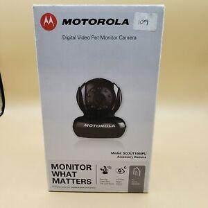 Motorola Digital Video Outdoor Pet Monitor Camera Scout 1000 PU infrared night