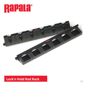 Rapala Lock'N Hold Rod Rack - Pike Perch Bass Cod Salmon Trout Lure Fly Fishing