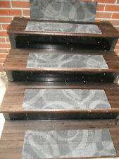 """13 Step Indoor Outdoor Stair Treads Staircase Step Rug Carpet 7""""x 24"""""""