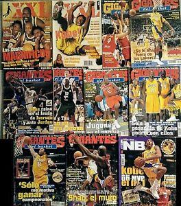 Kobe Bryant. Especial + Colección de 27 revistas ''Gigantes'' y ''Revista NBA''