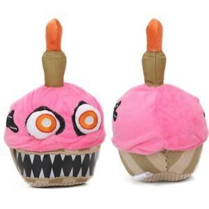 Nightmare Cupcake Fnaf Nights at Freddy's Series 2 Kids Plush Toys Pink 7.9Inch