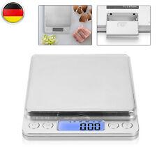 3kg/0,1g Digital LCD Küchenwaage Feinwage Präzision Briefwaage Münzwaage