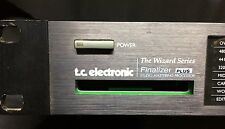TC ELECTRONIC THE WIZARD SERIES FINALIZER PLUS STUDIO MASTERING PROCESSOR