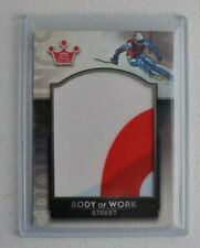2013 Sportkings F Body Of Work Picabo Street relic #'d 1/1