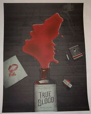 True Blood HBO TV Series Poster Print DKNG Signed Numbered Black Edition SOOKIE