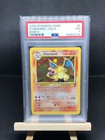 CHARIZARD 1999 Pokemon Unlimited Base 2 II Set HOLO # 4/130 - PSA 7 NR MINT