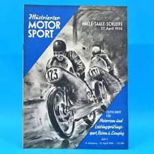 DDR Illustrierter Motorsport IMS 9/1958 Halle-Saale-Schleife Ariel HS Scrambles
