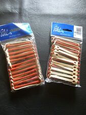 PERMING RODS/CURLERS   RED & BLUE FOUR PACKETS...  BRAND NEW