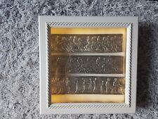 3 Display Light box Frame Grand Tour Intaglios Medallions friezes Pewter New