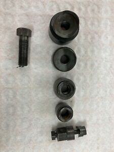 """GREENLEE KNOCKOUT PUNCH SET 1/2"""", 3/4"""", 1"""", 1-1/4"""" AND 1-1/2"""" WITH ARBORS"""