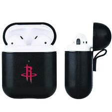 Houston Rockets NBA Fan Brander Black Leather AirPod Case