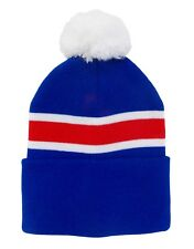 Rangers Style Bobble Hat  - Made in the UK