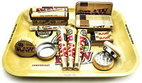 SMOKING COLLECTON - DEALS - GIFT SET - RAW - RIZLA - RAW MINI ROLLING TRAY DEALS
