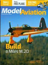 2015 Model Aviation Magazine: Build a Miles M.20/Three Free Plans/Foam Build