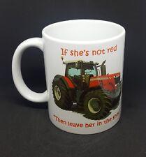 Massey Ferguson mug tractor funny coffee farming novelty present free gift box
