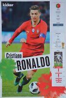 CRISTIANO RONALDO - A3 Poster (42 x 28 cm) - Fußball WM 2018 Clippings Sammlung