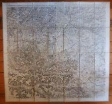 carte d'état major toilée LAON n°2 Révision 1912
