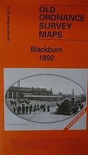 Old Ordnance Survey Maps Blackburn Lancashire 1892 Sheet 62.16 Coloured Edition