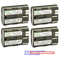 Kastar Replacement Battery for Canon BP-511 CG-580 & Optura 200MC Optura Pi
