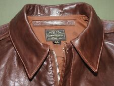 US Army AAF WW2 EASTMAN PILOT A-2 SEAL BROWN HORSEHIDE LEATHER FLIGHT JACKET NWT