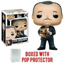 Funko Pop! Movies: Godfather Don Vito Corleone Vinyl Figure Bundled Pop BOX CASE