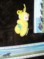 Teletubbies Laa Laa Clip on Plush clip backpack holder toy MCDonalds