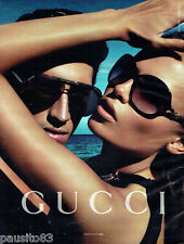 PUBLICITE ADVERTISING 026  2010  Gucci collection lunettes soleilaires 2