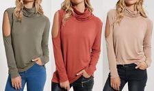 Unbranded Women's No Pattern Long Sleeve Sleeve Waist Length Tops & Shirts